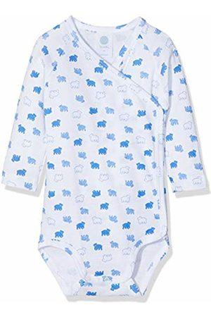 Sanetta Baby Boys' Wrapover 1/1 Allover Bodysuit