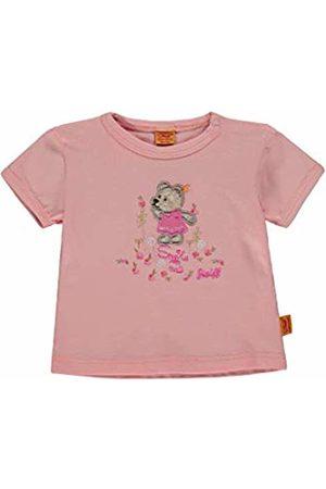 Steiff Baby Girls' T-Shirt 1/4 Arm (Peach Melba|