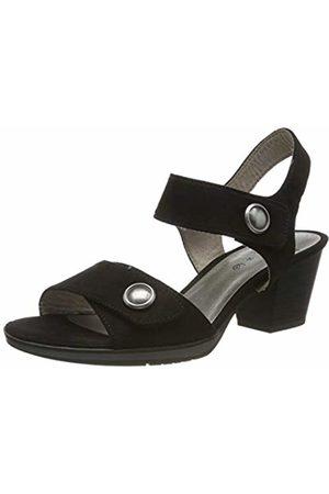 Jana Women's 8-8-28308-22 Ankle Strap Sandals, ( 001)