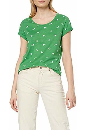 Esprit Women's 049CC1K033 T-Shirt, (Dark 300)