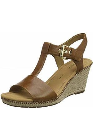 Gabor Shoes Women's Comfort Sport Ankle Strap Sandals (Peanut (Jute/Naht) 55) 8 UK (42 EU)