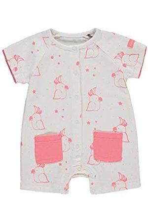 bellybutton Baby Girls' Overall Kurz, 1/4 Arm Footies|