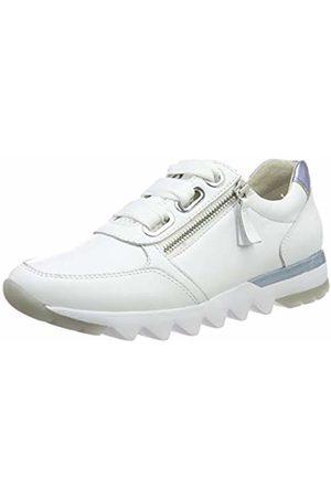 ad336853f233fd Gabor Women s Comfort Basic  Low-Top Sneakers (Weiss Azur 50) 6.5