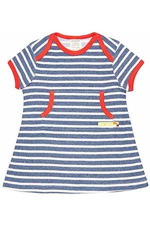 loud + proud Girl's Kleid Ringel, Aus Bio Baumwolle, GOTS Zertiziziert Dress