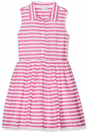 Name it Girls' NKFFRY Spencer Dress, Rosa Camellia Rose