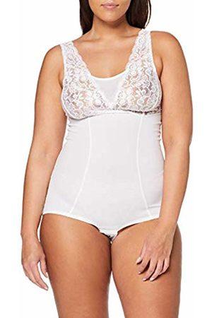 Ulla Popken Women's Plus Size Lace Top Body Shaping Bodysuit 32/34 720910 20-58+