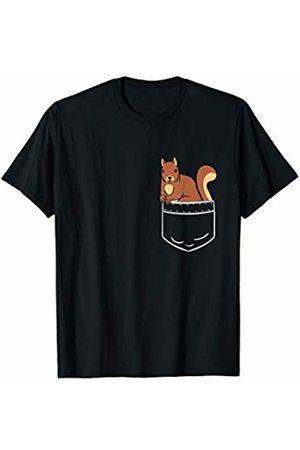 Squirrel Forrest & Outdoor Apparel Squirrel In Pocket Bag Funny Cute Gift & Present Tshirt