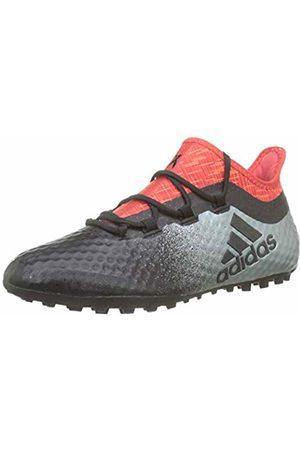 adidas Men's X Tango 16.1 Tf for Soccer Training Shoes, Negbas/Rojo