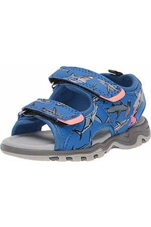 Joules Boys' Rockwell Ankle Strap Sandals, ( Sharks Blusharks)