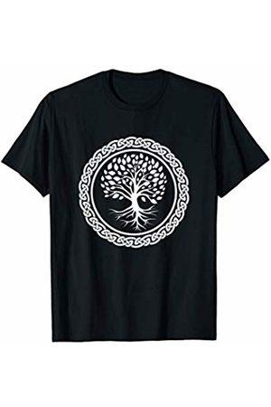 Norse Mythology Symbol T-Shirts and Gifts Yggdrasil Shirt Nordic Viking Tree of Life Yoga T-Shirt