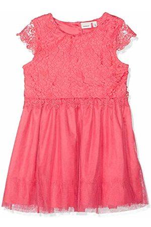 Name it Girls' NMFFANEA CAPSL Dress Rosa Camellia Rose