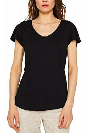 Esprit Women's 049CC1K023 T-Shirt, ( 001)