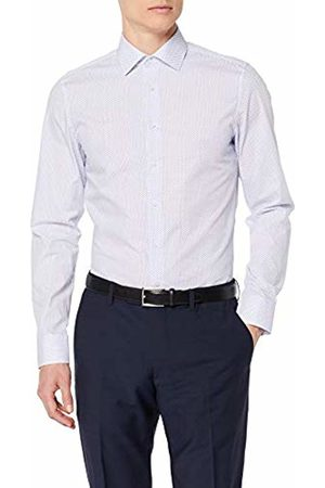 Seidensticker Men's Slim Langarm Mit Kent Kragen Soft Gepunktet Formal Shirt