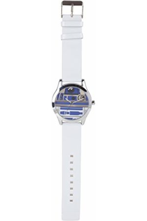 STAR WARS Quartz Watch with Dial analogue Display and PU Strap STAR296
