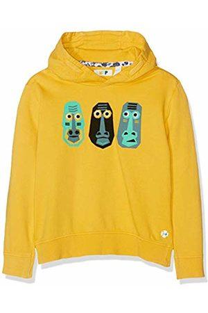 NOP Boys Hoodies - Boys 96202 Hooded Long Sleeve Hoodie - Yellow - 7 Years