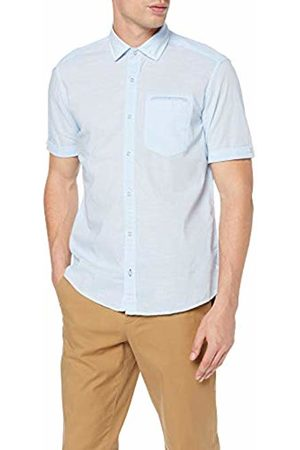 s.Oliver Men's 13.904.22.7663 Casual Shirt, (Fog Stripes 53g1)
