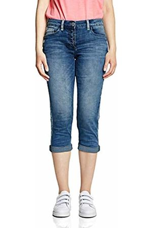 Cecil Women's 372087 Straight Jeans