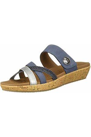 Skechers Women's Brie Open Toe Sandals Blu