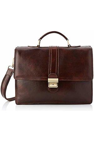 Chicca Tuttoa Women's CBC18906GF22 Top-Handle Bag Brown Marrone (Testa Di Moro)