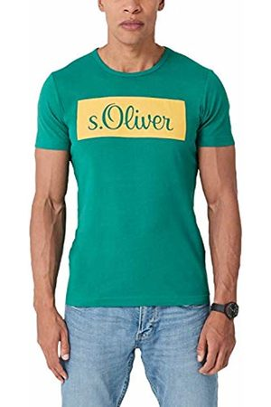 s.Oliver Men's 13.904.32.4800 T-Shirt (Teal 7668) Large