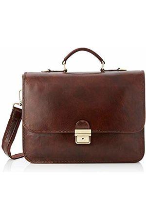 Chicca Tuttoa Women's CBC18224GF22 Top-Handle Bag Brown Marrone (Testa Di Moro)