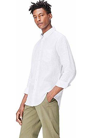 FIND Men T-shirts - FIND Men's Shirt in Linen Regular Fit