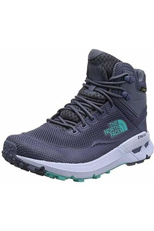 The North Face Women's W SAFIEN MID GTX High Rise Hiking Boots, (Grisaille /ION C57)