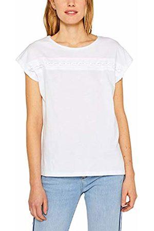 Esprit Women's 049ee1k016 T-Shirt, ( 100)