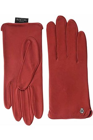 Roeckl Women's Colour Power Gloves, (Tomato 440)