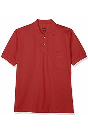 Trigema Men's 627602 Polo Shirt (Kirsch 036) Medium