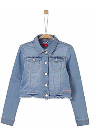 s.Oliver Girl's 66.904.51.3198 Jacket Denim Stretch 53z7