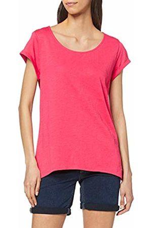 Esprit Women's 019ee1k003 T-Shirt, ( Fuchsia 3 662)