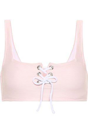 Heidi Klein San Marino lace-up bikini top