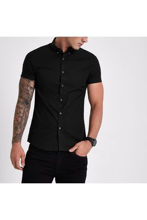 River Island Muscle fit short sleeve shirt