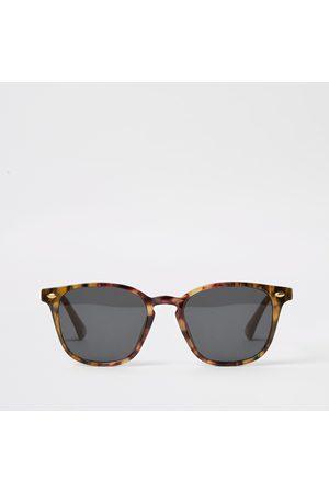 River Island Tortoise shell retro square sunglasses
