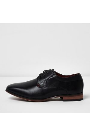 River Island Boys pointed brogue shoes