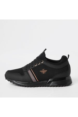 River Island MCMLXXVI' lace-up trainers