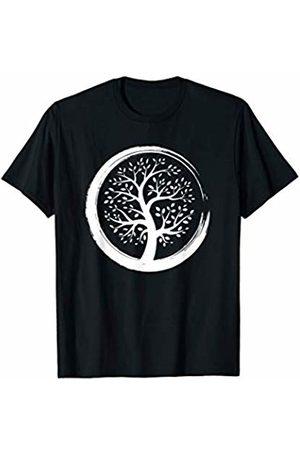 Spiritual zen yoga shirts and clothing Tree of Life yoga meditation shirt T-Shirt