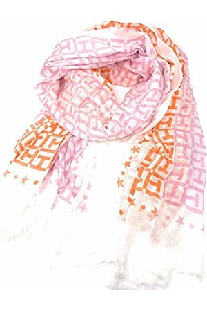 Tommy Hilfiger Women's Th Monogram Colourblock Scarf (Bright Mix 903)