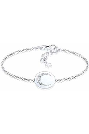 Elli Women's 925 Sterling Link Bracelet 0209522117_16 - 16cm length