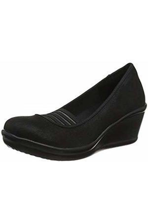Skechers Women's Rumblers Platform Heels, ( Blk)