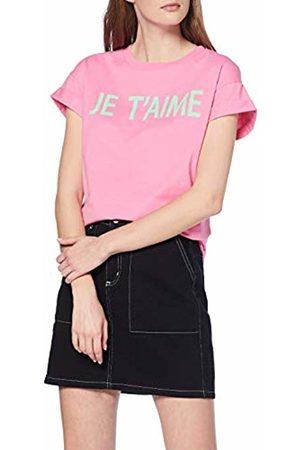 Rich & Royal Women's T-Shirt Je T'Aime T-Shirt, (Rose 529)