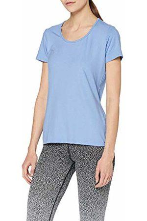 Trigema Women's 542201 T-Shirt (Sky 141) Small