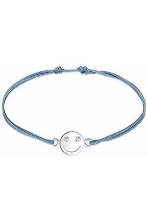 Elli Women Rope Bracelet Swarovski Crystals - 0207312017_16 - 16cm length