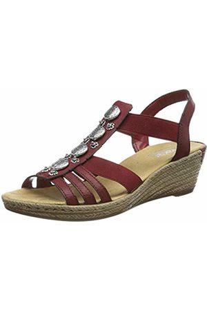 Rieker Women's 624b4-35 Closed Toe Sandals 6 UK