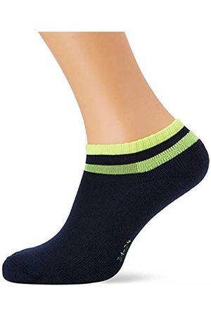 Falke Boy's Retro Ankle Socks (Marine 6120) 39