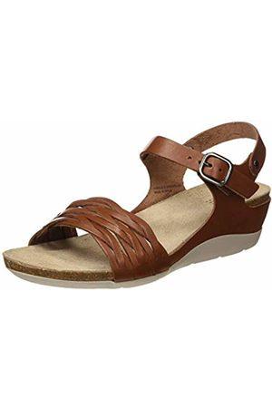 TBS Women's Mojarra Open Toe Sandals (Cognac C7155) 5 UK