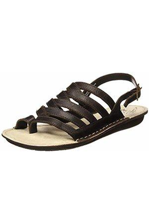 TBS Women's Zippers Open Toe Sandals (Ebene A7015) 6 UK