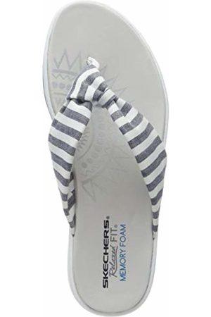 Skechers Women's Upgrades Flip Flops NVY