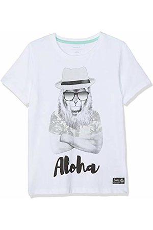 Name it Boy's Nkmzenos Ss Top Sun T-Shirt, Bright